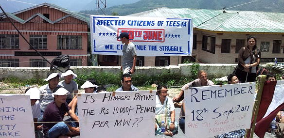 5th Anniversary of Hydel Protest